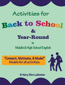Activities for Back-to-School & Year-Round in Middle & High